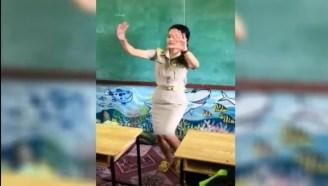 动感女老師!跳舞教學生背「九九乘法」