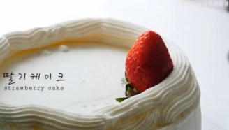 【耳机党福利】【cooking asmr】草莓蛋糕