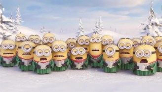 【我的世界MC】小黄人唱圣诞歌曲