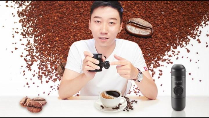 奇葩迷你咖啡機 隨時隨地調制濃縮咖啡