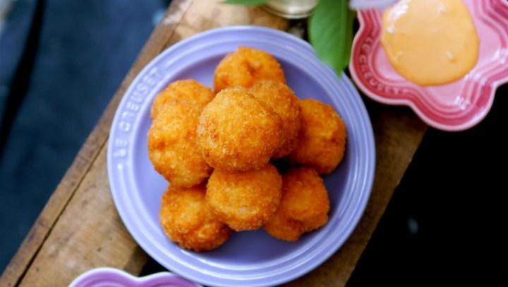 全家搶著吃的酷夏解饞小食--脆皮黃金蝦球