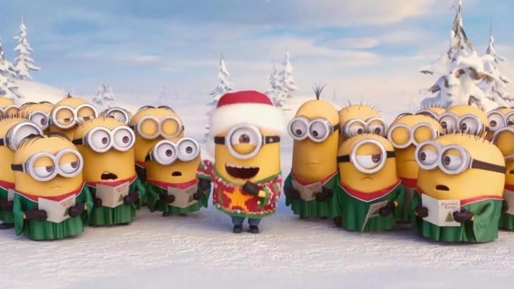 小黃人唱《Jingle Bells》萌翻啦 O(∩_∩)O~~