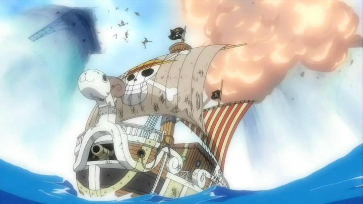 海賊王————再見,梅利號。。。