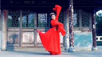 【宦小宦熊】牵丝戏/镜面翻转/古典舞/水袖/舞蹈教程/原速镜面+慢速镜面