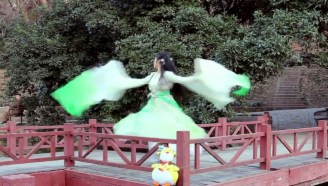 【吾佟】神武雨霖铃/古典舞蹈/扇子舞/古风/镜面原速+镜面慢速/舞蹈教程