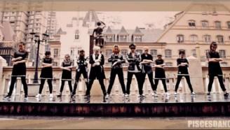 【武汉PC势崛舞蹈】BANG BANG BANG Bigbang 舞蹈模仿