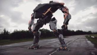 高達動漫要變成現實?韓國造出未來機械戰甲,太酷了!
