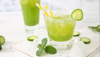 美容养颜夏季特饮,来一杯黄瓜雪梨汁吧