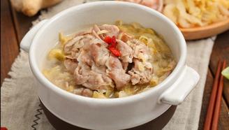 東北經典家常菜,酸香爽口的酸菜汆羊肉