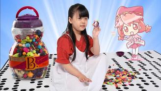 小公主的首饰大宝箱,用波普串串珠DIY花朵小戒指!
