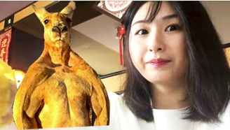 【Nya酱】作死萌妹子挑战澳大利亚黑暗料理{袋鼠肉}!GO!KANGAROO!!!