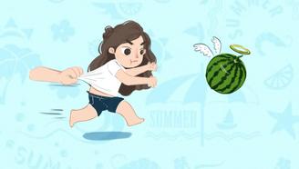 为了减肥,把西瓜当晚餐真能月瘦十斤?