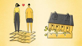 在北京,你赚多少才敢找个女朋友一起住?