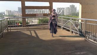 《落花情》舞蹈MMD实景合成震撼来袭