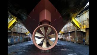 这螺旋桨让美国慌了,中国制造美国搞不定,开启潜艇静音时代