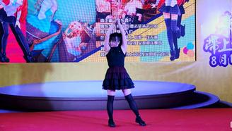 【狸子】国漫8舞台表演 舞蹈:《桃花旗袍》