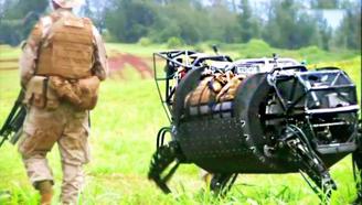 中国大学做机器兔PK美军机器狗,获国际比赛第一名,为中国骄傲