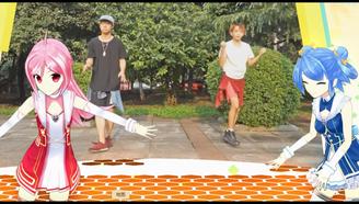 波涛汹涌的妹子,跳起舞来是这样的!