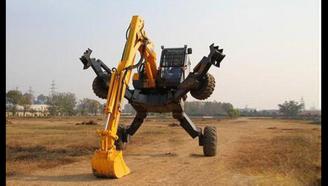中国造变形怪兽,能像人一样会走路,最适合地震救援