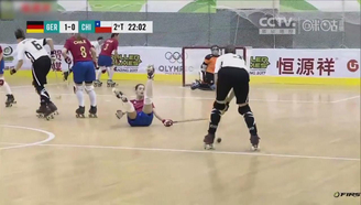 【轮滑世锦赛】争议!!智利女将疑似假摔,德国痛失绝佳得分机会!!
