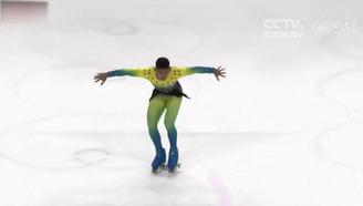 【轮滑世锦赛】freestyle!哥伦比亚花滑小哥哥节奏带感引爆全场!