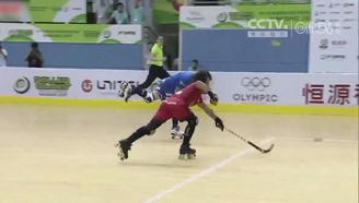 【轮滑世锦赛】双排轮滑球男子组:阿根廷4-3安哥拉比赛集锦