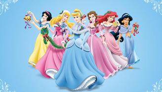 迪士尼公主大蜡笔玩具一起来认识这些色彩的魅力吧