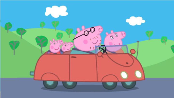 小猪佩奇可以看病打针的医药箱和救护车玩具儿童故事