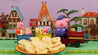 敲萌的小猪佩奇饼干简直舍不得吃掉!