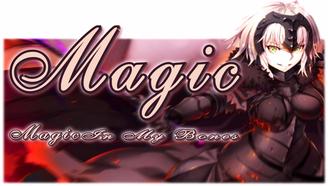 【2017·7月】新番混剪丨Magic In My Bones
