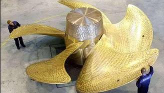 中国造6.4米航母螺旋桨,什么原因让美日:中国应适当放慢速度
