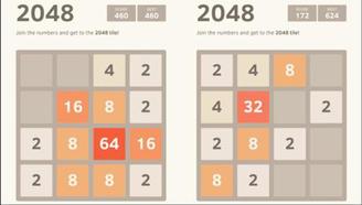 無加速!2048這手速鍵盤都要燒了!1分36秒完成