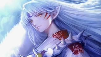 【燃向】动漫中的银色长发男神