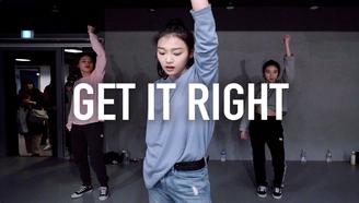 【2.3-2.7在深圳】 YooJung Lee编舞 GET IT RIGHT