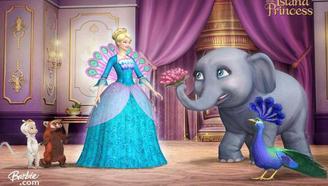 芭比大电影:露露认出了眼前的女王就是她的妈妈,成为公主!