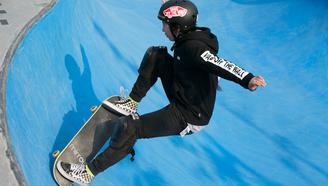 中国滑板俱乐部联赛总决赛暨国际滑板公开赛第一天上午赛况