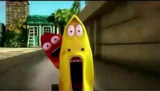 爆笑虫子:黄虫吃了一堆辣椒,用屁动力驾驶四轮车与屎壳郎比赛车