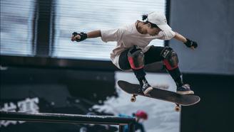 【亚运会滑板预选赛 街式第一弹】街头最酷女团了解一下?