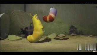 爆笑虫子:两只萌贱的小虫子抢吃冰激凌