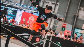 【2018CSL滑板俱乐部联赛 女子街式】翻滚吧!滑板