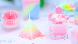 过七夕,这些好吃的蜡烛不能少,教你轻松DIY玫瑰 布丁 冰山蜡烛