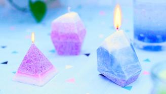 浪漫七夕烛光晚餐,这2款果冻 冰花蜡烛必不可少,今天就把你教会