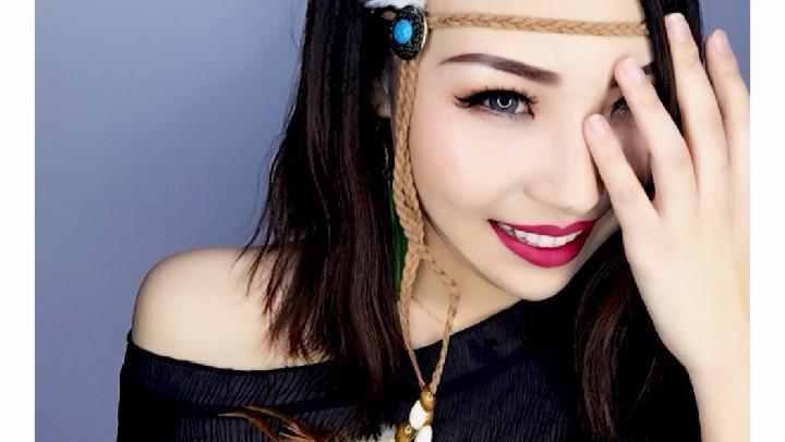 蒙古妞兒彩妝教程及產品用法