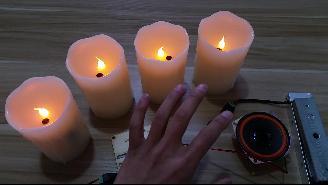 蜡烛灯道具 (和吹灯道具玩法一样)