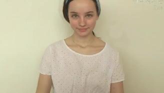 水嫩,露水般亮晶妆容,女神的最爱 唯美美妆 @Sissel AB