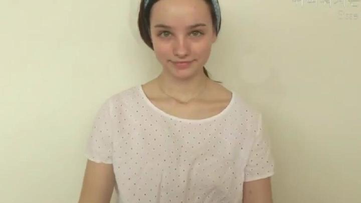 水嫩,露水般亮晶妝容,女神的最愛 唯美美妝 @Sissel AB
